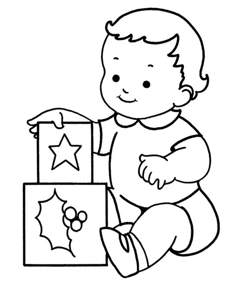 easy baby coloring pages learning years christmas coloring pages baby with