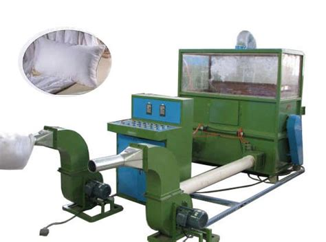 Fiber Pillow Filling Machine by Hjzxj 500 Fiber Opening Pillow Filling Machine Textile