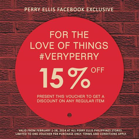 Perry Ellis Outlet Coupons Printable
