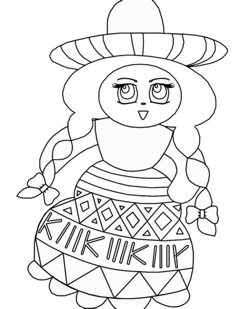 fiesta coloring pages free printable birthday printable fiesta mexican coloring pages