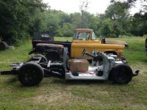 1958 chevy pickup and 1991 s10 frame 350 motor 5 speed