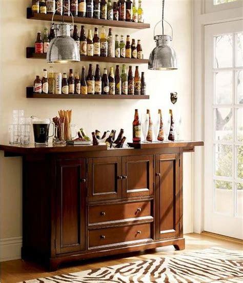 cool minibar idea  small space lifestyle home bar