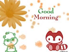 Cute good morning sayings