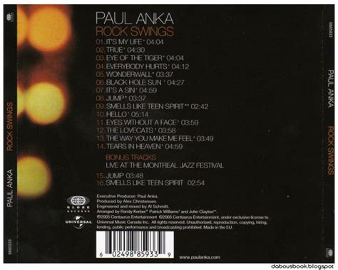paul anka rock swings download تحميل ألبوم download paul anka rock swings 2005 mp3