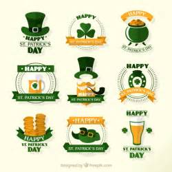 happy st s day elements vector free