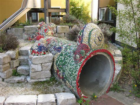 hk skulpturen erste beton mosaik skulpturen