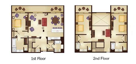 kidani village 2 bedroom villa floor plan animal kingdom villas kidani village dvc rental store