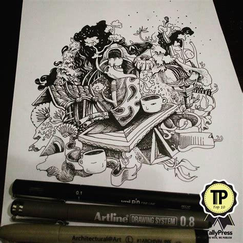 malaysian doodle artist malaysia s top 10 doodle artists tallypress
