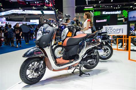 Honda New Scoopy mengintip honda all new scoopy custom di bangkok motor show