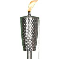 patio torch dimpled tiki torch