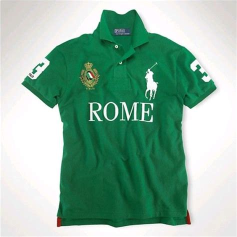 More Ponies For Polo by Ralph Rome Green White Big Pony Polo Http Www