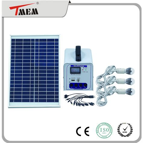 solar energy kits for homes 30w portable solar power kits dc solar home light solar