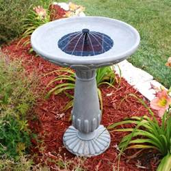 diy solar heated bird bath birdcage design ideas