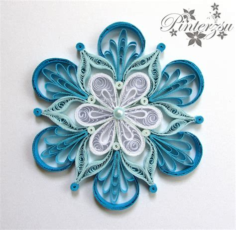 snowflake patterns quilling quilled snowflake by pinterzsu on deviantart quilling