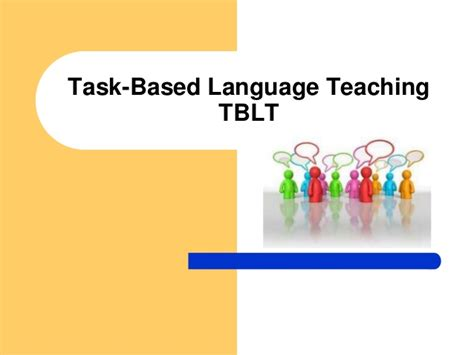 Task Based | task based language teaching formato 2010