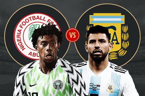 como ver el partido argentina vs nigeria