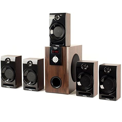 frisby fs 5060bt 5 1 surround sound home theater speakers
