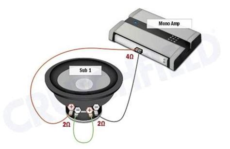 subwoofer wiring diagrams car audio audio and cars