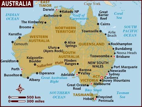 map for australia international association home page