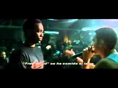eminem movie phenomenon 8 mile b rabbit vs papa doc freestyle youtube