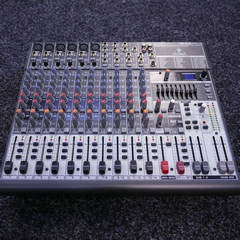Daftar Mixer Behringer Second behringer xenyx 1832fx 2nd rich tone