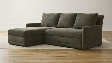 Sofa Beds And Sleeper Sofas Crate And Barrel Crate And Barrel Sofa Bed