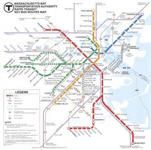 Boston Tube Map by Boston Subway Map Boston T Subway Map Paris Metro Map