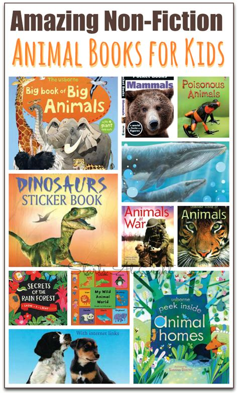 animal picture book 15 awesome non fiction animal books for startsateight