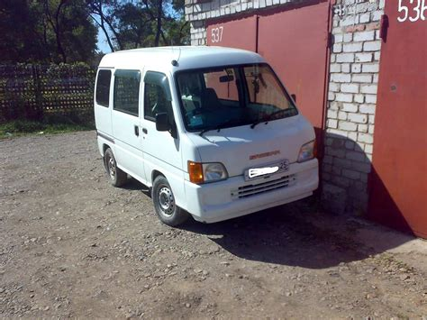 Used 2000 Subaru Sambar Photos 700cc Gasoline Fr Or Rr
