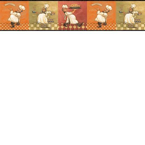 kitchen borders ideas italian fat chef wallpaper border kbe12641b kitchen decor