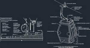Floor Plan Symbols Cable Car Gondola In Autocad Drawing Kamocad