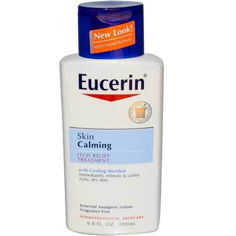 itch medicine eucerin skin calming itch relief treatment fragrance free 6 8 fl oz 200 ml