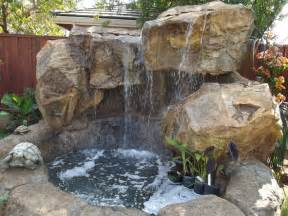 Backyard Water Features NH, Waterfalls NH, Grottoes NH. Outdoor Living Systems     Tropical