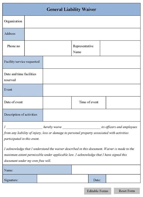The 25 Best General Liability Ideas On Pinterest Legal Forms Bill Of Sale Template And Free General Liability Release Form Template