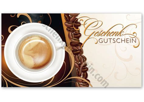 gutschein kaffee und kuchen g298 faltgutschein multicolor geschenkgutschein