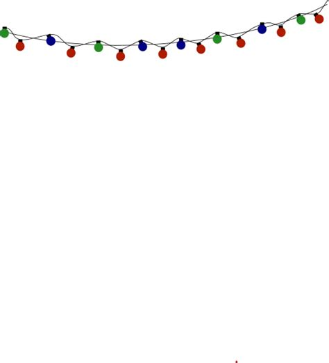 christmas lights clip art at clker com vector clip art