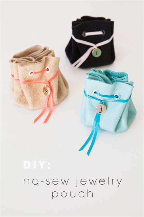 how to make a jewelry pouch 37 best diy gifts for diy