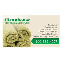 cleaning services business card professional house cleaning service business card templates