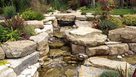 garden waterfall designs landscape garden designers reading berkshire pete sims