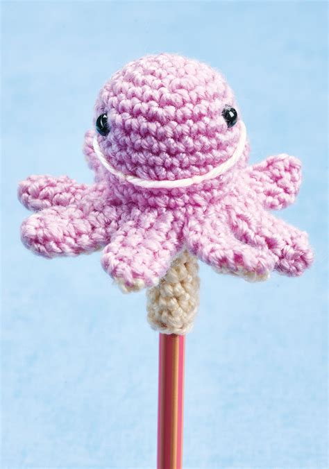 crochet pencil toppers crochet pattern