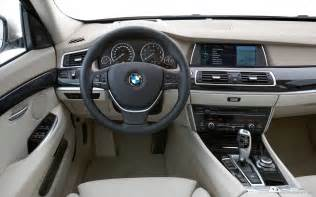 2010 bmw 5 series gran turismo interior