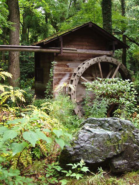 Kyoto Botanical Garden File Kyoto Botanical Garden Water Mill Jpg