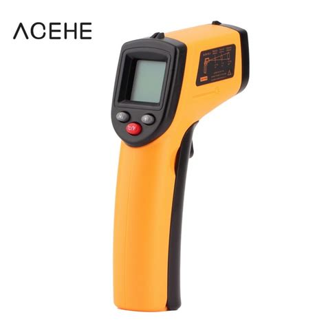 New Laser Infrared Meter 0 05 50 M Pro Limited Edition Wat Murah 2016 new termometro digital non contact ir laser display digital infrared thermometer