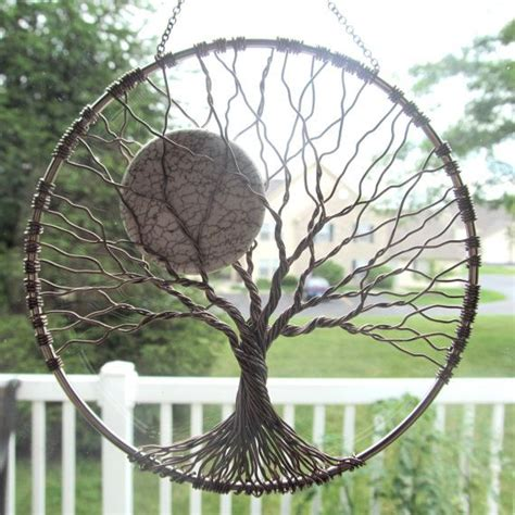 wire tree wall hanging home decor calming tree wire tree of life wall hanging sun catcher