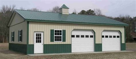 great pole barn garage plans