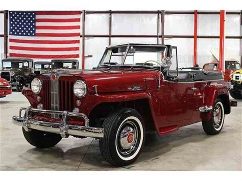 1948 willys jeepster 1948 willys jeepster for sale on classiccars com 4 available