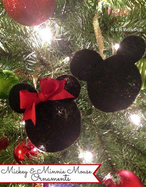 diy mickey mouse christmas decorations 30 diy ornament ideas tutorials hative