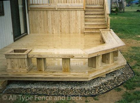 deck planters and benches deck planter box ideas beautiful decks your design or