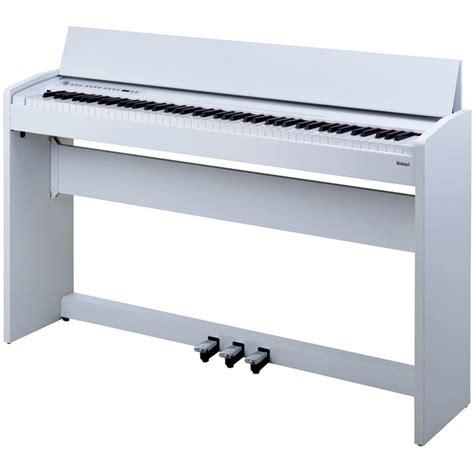 roland f 110 piano num 233 rique satin blanc d occasion