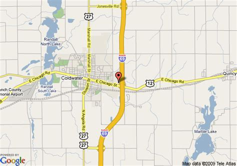 directions to comfort suites map of comfort inn and suites coldwater